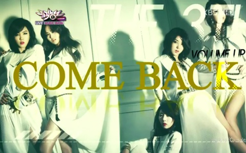 4Minute Makes Their Comeback Performances on Music Core