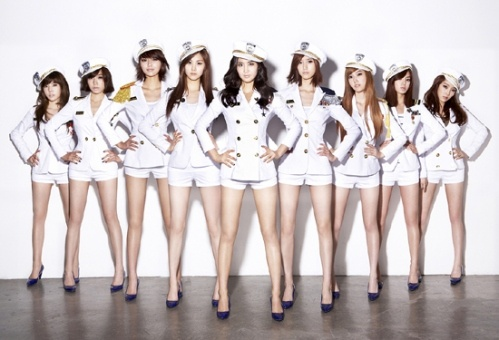 SNSD Ranks #2 On Japan's List of Power Groups