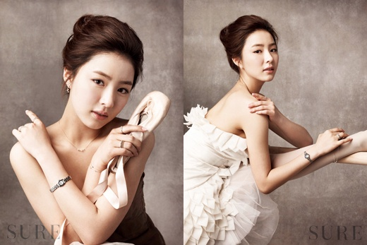 "Shin Sae Kyung Becomes an Elegant ""White Swan"" Ballerina"
