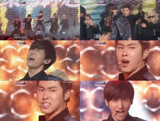 KBS Music Bank 07.01.2011