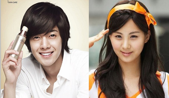 Kim Hyun Joong and Seohyun Are Making a CF Together