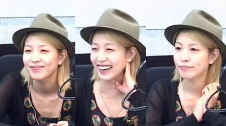 BoA's Bare Face Garners Compliments
