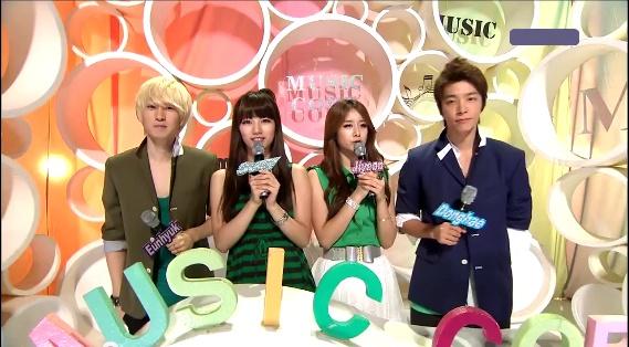 MBC Music Core 08.13.11