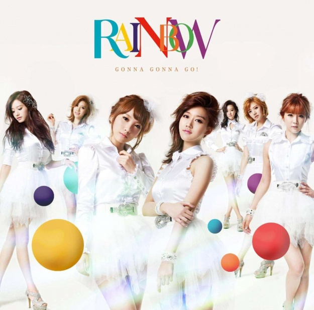 "Rainbow's ""Gonna Gonna Go!"" Reaches Top 10 Oricon Weekly Chart"