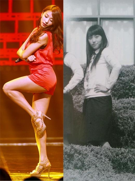 SISTAR's Bora Missing Her Sexy Look in High School Photos