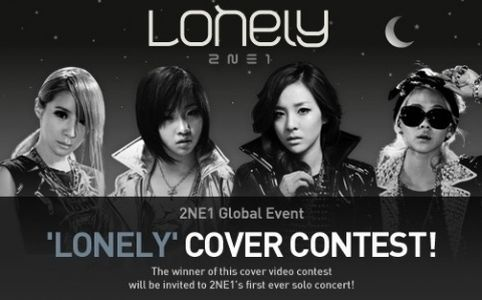 """2NE1 Supporting the """"Lonely"""" Cover Contest"""