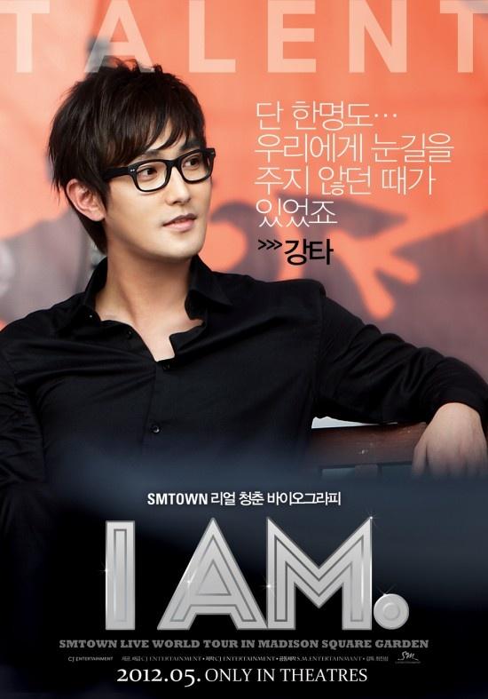 """SM Documentary """"I AM"""" Reveals Kangta Poster"""