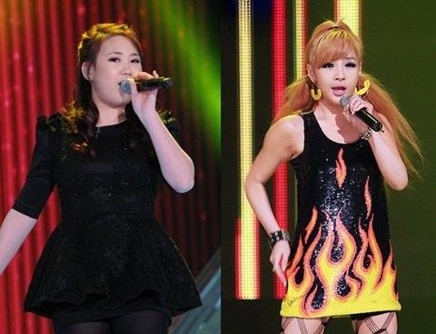 "2NE1's Park Bom Gives Dieting Advice to ""K-Pop Star"" Park Ji Min"