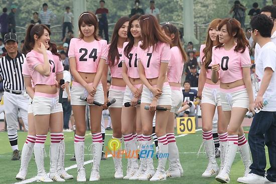 Seoul Open Bowl Football (Girls' Generation)