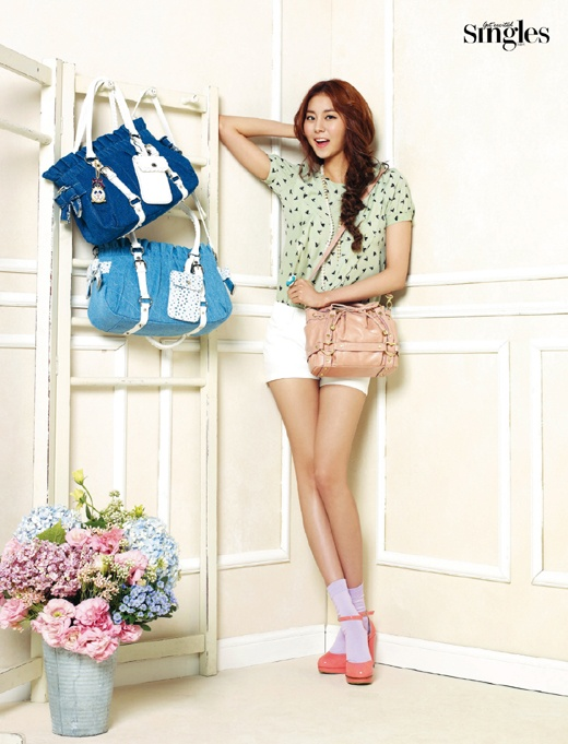 After School Uee's Real Body Line without Her Kill Heels