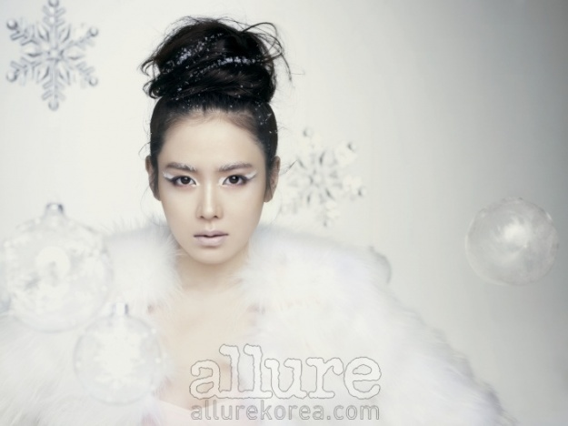 "Son Ye Jin, the ""Snow Queen"""