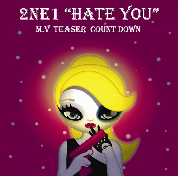 "2NE1's New MV ""Hate You"" Released"