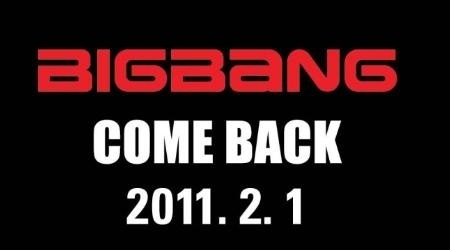 Big Bang Is Coming Back!
