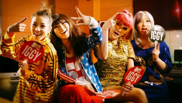 """2NE1 Shares Thoughts on Winning MTV Iggy's """"Best New Band in the World"""""""