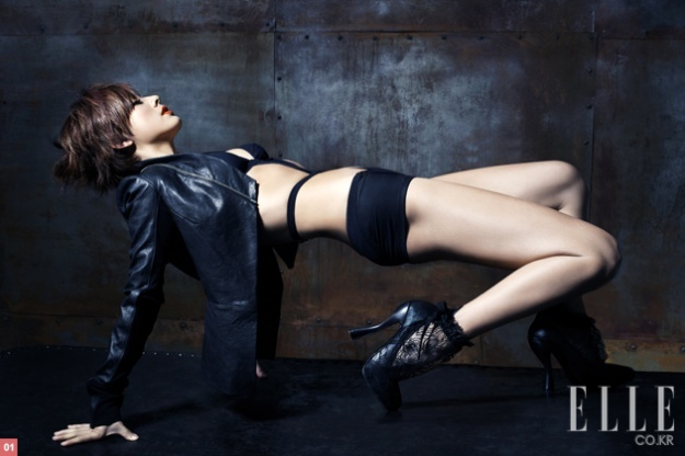 Hyori's Elle Magazine Photo Shoot Pictures Are Smoking Hot