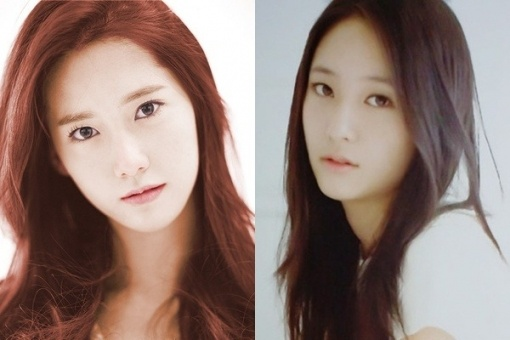 Girls' Generation YoonA and f(x) Krystal Are Twin Sisters?