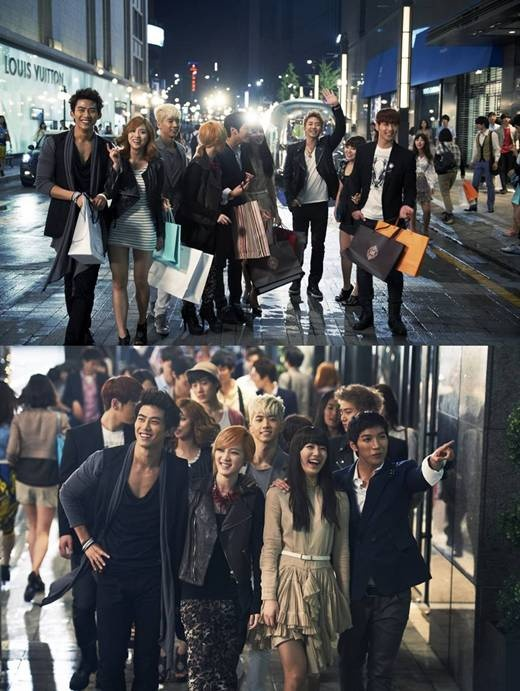 2PM and miss A Become Models for Korean Tourism Organization