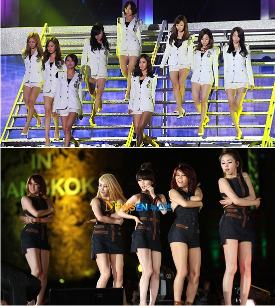 SNSD vs Wonder Girls, Who Will Come Out on Top?