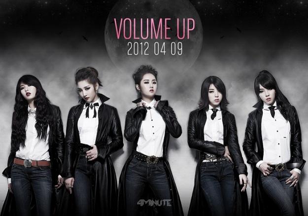"4minute Unveils Second Teaser Image for ""Volume Up"""