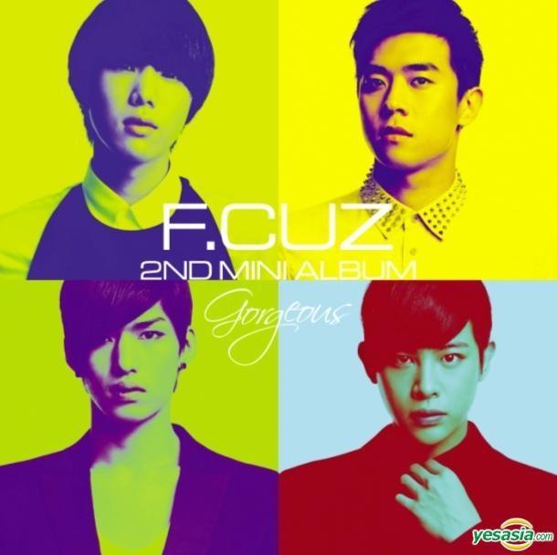 """F.cuz Releases Mini-Album """"Gorgeous"""""""