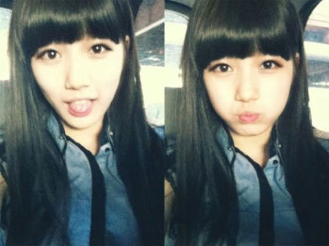 miss A's Suzy Texts in her Sleep?
