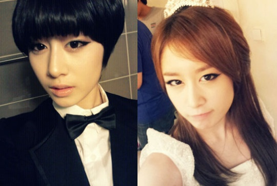 T-Ara Jiyeon's Past Look Without Smoky Eyeliners