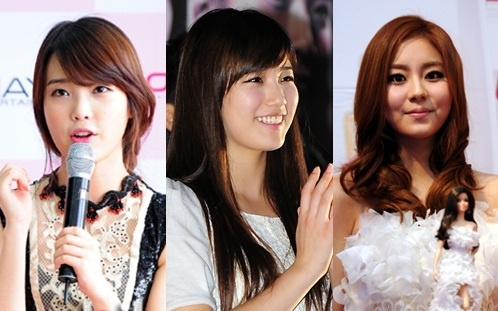 Suzy, Uee, and IU to Battle for the Same Award