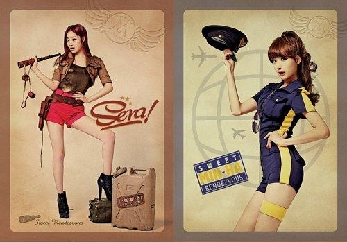 """Second Round of Nine Muses' """"Pin-Up Girls"""" Teaser Photos"""
