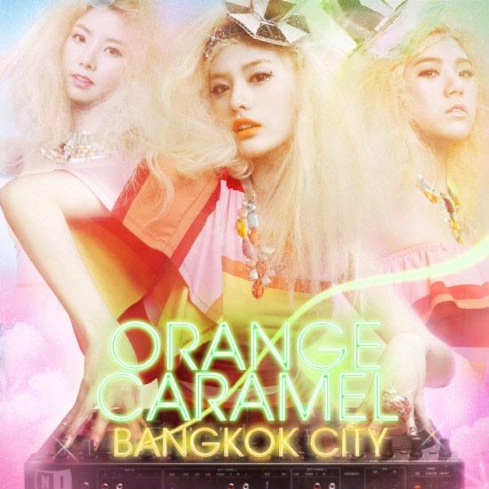 Orange Caramel's Bangkok City Debuts At No.1