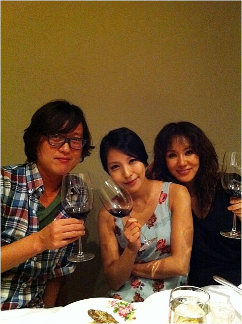 BoA Enjoys Wine Party with Kim Dong Ryul and Uhm Jung Hwa!