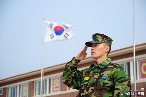 Hyunbin's Military Training Documentary
