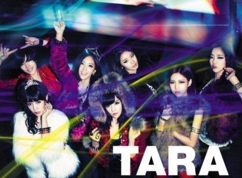 T-ara #1 on K-Pop Billboard Chart