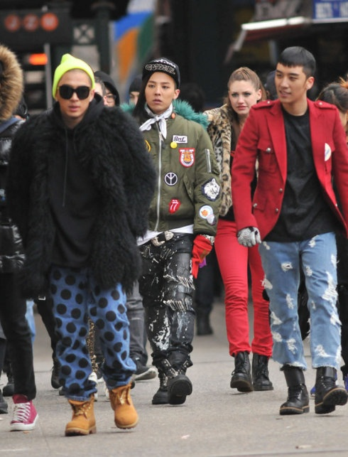 Big Bang Tightens Their Security in New York Due to Paparazzi
