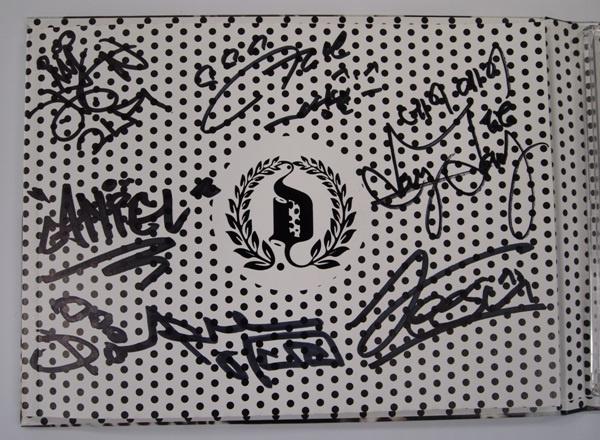 Exclusive Dalmatian Mini Album with Signatures Contest