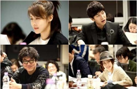 "Lee Seung Gi and Ha Ji Won's ""The King"" Unveils Photos from Script Reading"