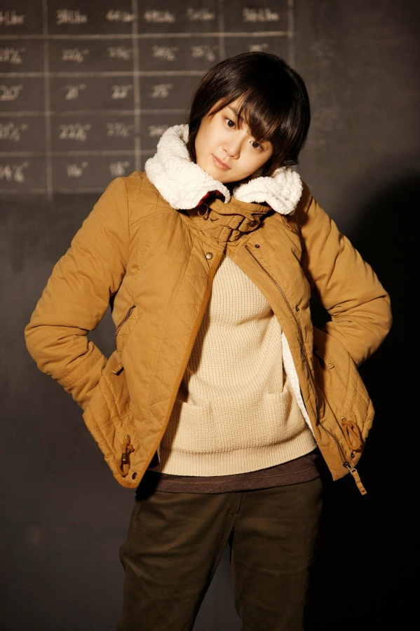 Moon Geun Young and Won Bin for Basic House (F/W '11)