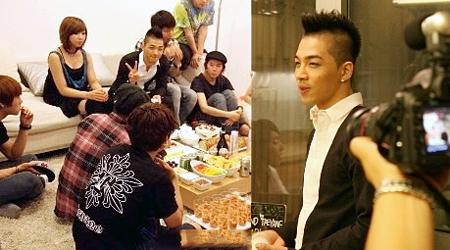 YG Family Celebrates With Taeyang