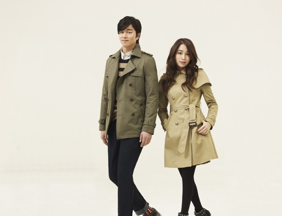 Gong Yoo and Lee Min Jung Model for Mind Bridge