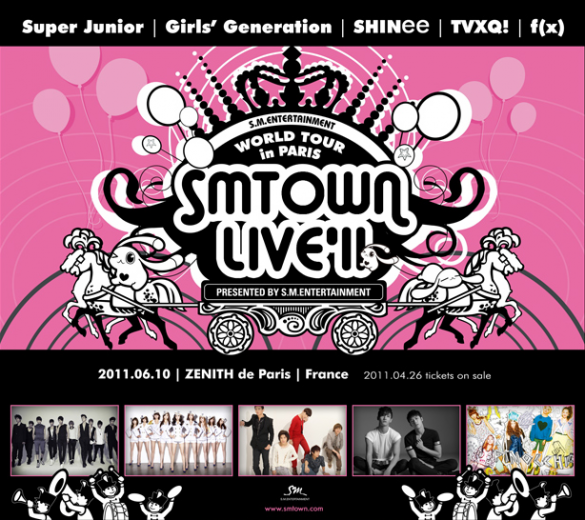 SMTOWN Live World Tour in Paris to be broadcasted on MBC