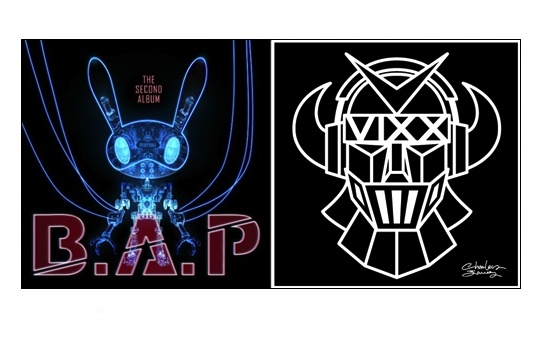 Battle of the Mascots: B.A.P's Matto vs. VIXX's Robot
