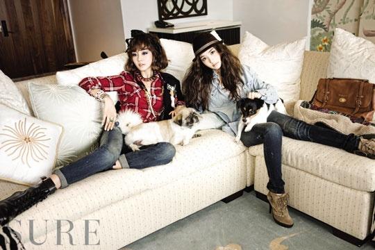 "Sung Yuri and Park Min Young Showcase Hawaii in ""Sure Magazine"""