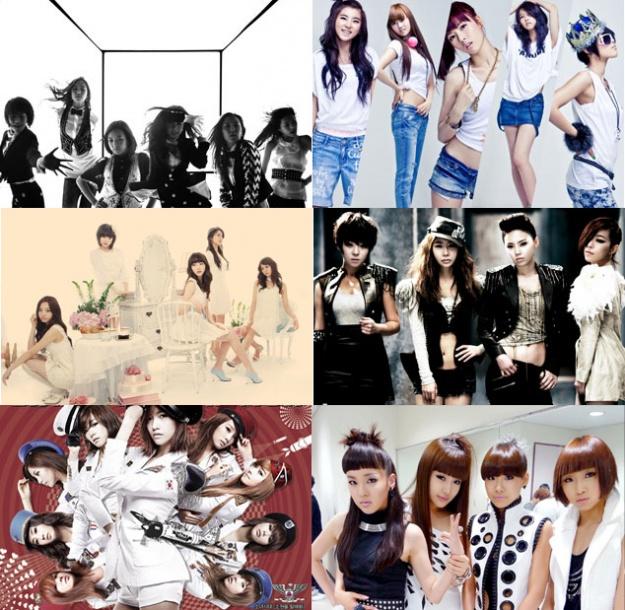 K-Pop Girlgroups' Activities For Jan-Feb 2010