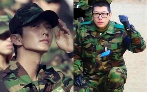 Park Hyo Shin and Lee Jun Ki Visit the US as Part of Military Service
