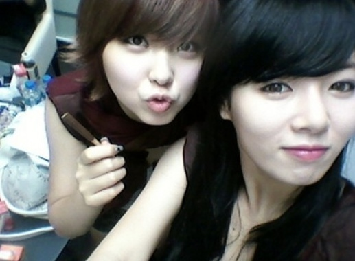 4minute's Kwon So Hyun and HyunA Have Fun at Cube Entertainment Outing