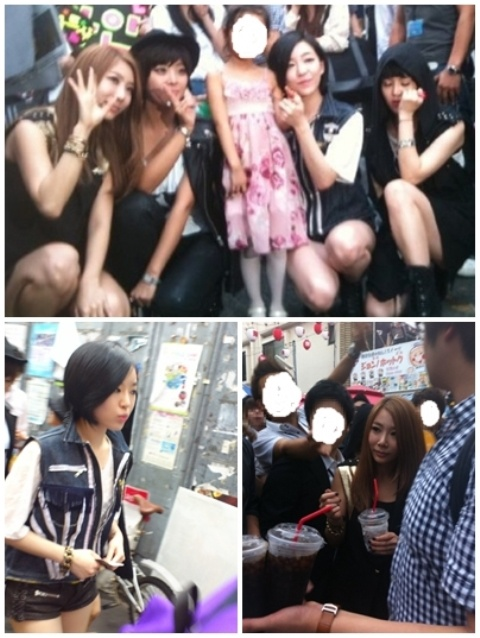 Brown Eyed Girls Recently Spotted in Japan
