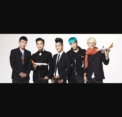 Big Bang Signs Modelling Contract with Jeju Air