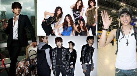 Rain, 2AM, Kara, and AKB48 For Asia Song Festival