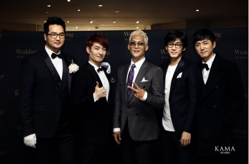 g.o.d. Together Again for Kim Tae Woo's Wedding