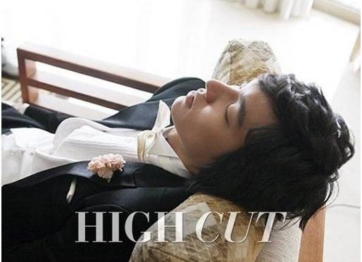 Photoshoot for High Cut Magazine (Lee Min Ho)