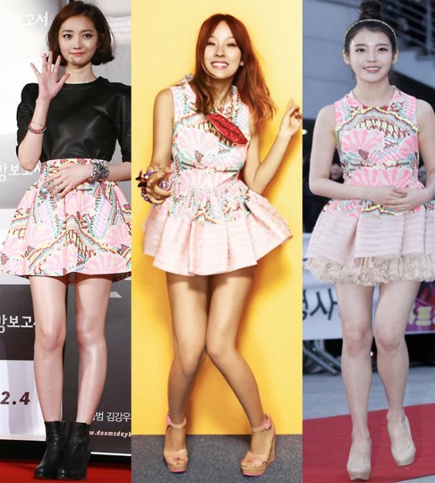 Who Wore It Better: IU vs. Lee Hyori vs. Go Jun Hee